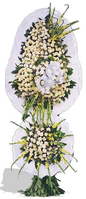 Dügün nikah açilis çiçekleri sepet modeli  Burdur çiçek gönderme sitemiz güvenlidir