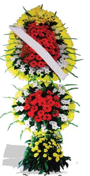 Dügün nikah açilis çiçekleri sepet modeli  Burdur çiçek yolla