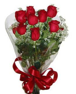 Çiçek sade gül buketi 7 güllü buket  Burdur online çiçek gönderme sipariş