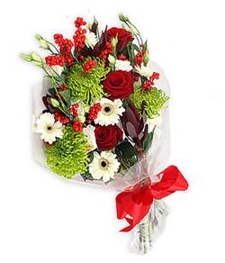 Karisik mevsim buketi çiçek tanzimi  Burdur internetten çiçek siparişi