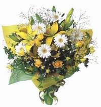 Burdur ucuz çiçek gönder  Lilyum ve mevsim çiçekleri