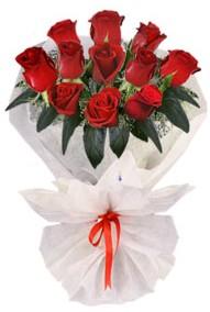 11 adet gül buketi  Burdur internetten çiçek siparişi  kirmizi gül