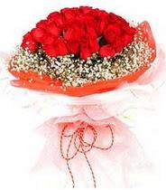 Burdur hediye sevgilime hediye çiçek  21 adet askin kirmizi gül buketi