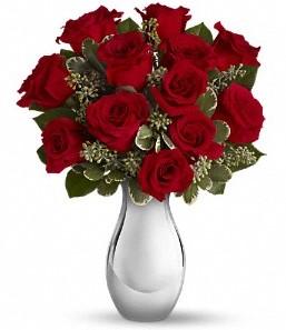 Burdur çiçek siparişi vermek   vazo içerisinde 11 adet kırmızı gül tanzimi
