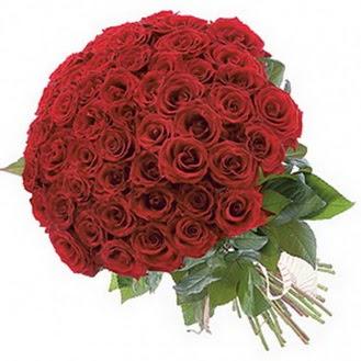 Burdur güvenli kaliteli hızlı çiçek  101 adet kırmızı gül buketi modeli