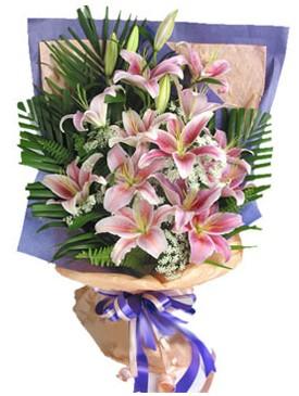 7 dal kazablankadan görsel buket  Burdur kaliteli taze ve ucuz çiçekler