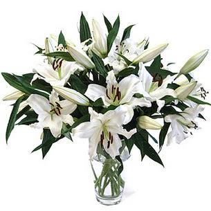 Burdur çiçekçi telefonları  3 dal görsel casablanca vazo tanzimi