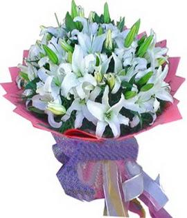 7 dal cazablanca görsel buketi  Burdur çiçekçi mağazası