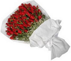 Burdur İnternetten çiçek siparişi  51 adet kırmızı gül buket çiçeği