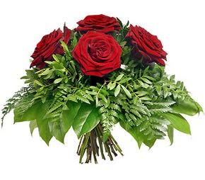 Burdur çiçek mağazası , çiçekçi adresleri  5 adet kırmızı gülden buket