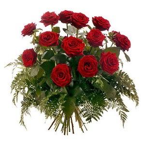 Burdur internetten çiçek satışı  15 adet kırmızı gülden buket