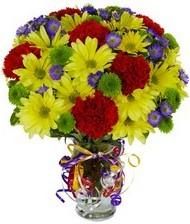 En güzel hediye karışık mevsim çiçeği  Burdur hediye çiçek yolla
