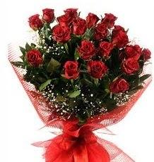 İlginç Hediye 21 Adet kırmızı gül  Burdur internetten çiçek siparişi