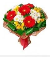 1 demet karışık buket  Burdur hediye sevgilime hediye çiçek