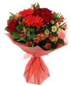 karışık mevsim buketi  Burdur internetten çiçek siparişi
