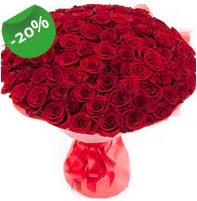 Özel mi Özel buket 101 adet kırmızı gül  Burdur anneler günü çiçek yolla