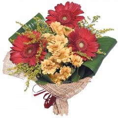 karışık mevsim buketi  Burdur çiçekçi mağazası