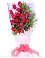 19 adet kırmızı gül buketi  Burdur uluslararası çiçek gönderme
