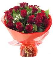 12 adet görsel bir buket tanzimi  Burdur çiçek siparişi vermek