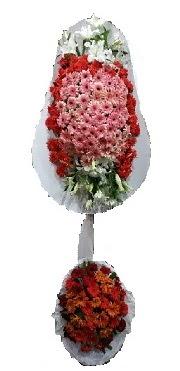 çift katlı düğün açılış sepeti  Burdur internetten çiçek satışı