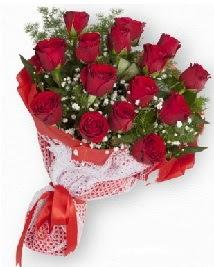 11 kırmızı gülden buket  Burdur güvenli kaliteli hızlı çiçek