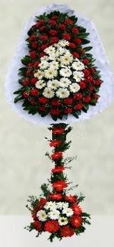 Burdur internetten çiçek satışı  çift katlı düğün açılış çiçeği