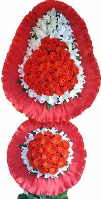 Burdur online çiçek gönderme sipariş  Çift katlı kaliteli düğün açılış sepeti