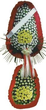 Çift katlı düğün açılış çiçeği  Burdur çiçek servisi , çiçekçi adresleri