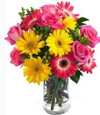 Vazoda Karışık mevsim çiçeği  Burdur çiçekçi mağazası