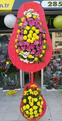 Çift katlı düğün nikah açılış çiçek modeli  Burdur online çiçek gönderme sipariş