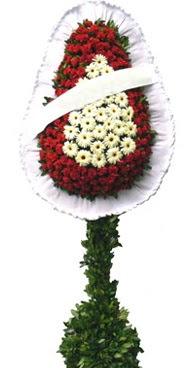 Çift katlı düğün nikah açılış çiçek modeli  Burdur İnternetten çiçek siparişi