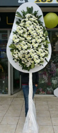 Tek katlı düğün nikah açılış çiçekleri  Burdur çiçek gönderme
