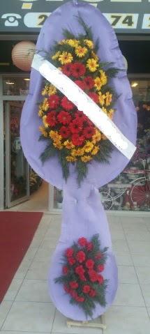 Çift katlı nikah düğüne çiçek modeli  Burdur internetten çiçek siparişi
