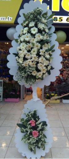 Çift katlı düğün nikah açılış çiçeği  Burdur çiçekçi telefonları