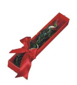 Burdur çiçek online çiçek siparişi  tek kutu gül sade ve sik