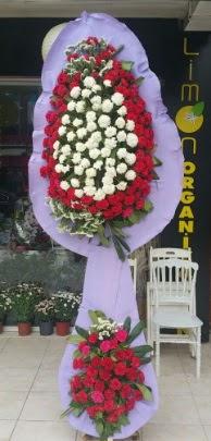 Çift katlı işyeri açılış çiçek modeli  Burdur ucuz çiçek gönder