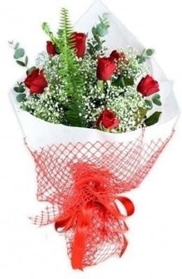 7 adet gülden kız arkadaşıma çiçek  Burdur çiçekçi telefonları