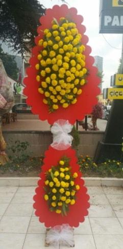 Düğün nikah açılış çiçek modeli  Burdur çiçek siparişi sitesi