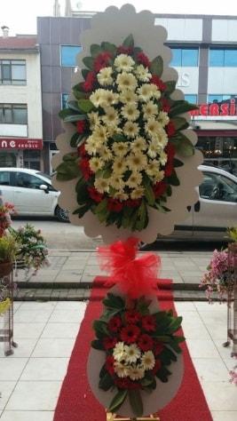 Çift katlı düğün açılış çiçeği  Burdur çiçek satışı