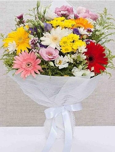 Karışık Mevsim Buketleri  Burdur ucuz çiçek gönder