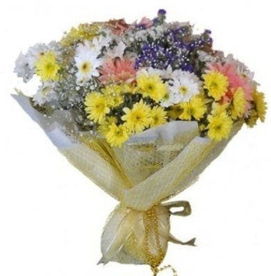 Karışık mevsim çiçeği  Burdur çiçek satışı