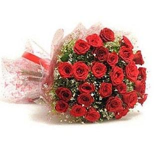 27 Adet kırmızı gül buketi  Burdur ucuz çiçek gönder