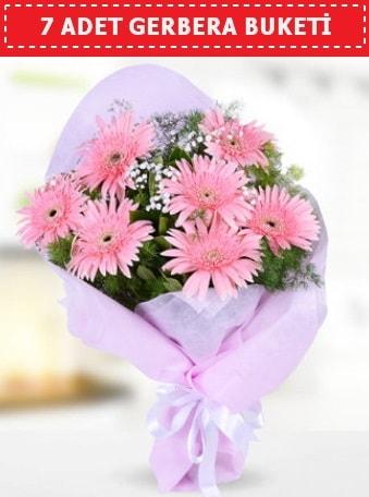 Pembe Gerbera Buketi  Burdur çiçek , çiçekçi , çiçekçilik