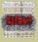 Burdur cicekciler , cicek siparisi  Sandikta 11 adet güller - sevdiklerinize en ideal seçim